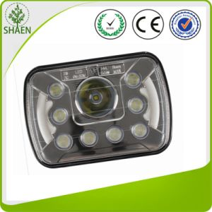 7 Inch LED Headlight Offroad Truck with DRL Angle Eye High/Low Beam pictures & photos