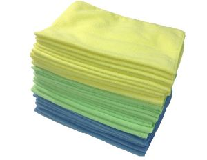 Car and House Cleaning Microfiber Cleaning Cloth pictures & photos