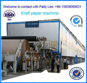 3200mm Type Big Capacity 100 T/D Corrugated Paper Making Machine Using Waste Paper as Raw Material pictures & photos