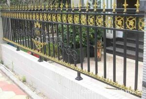 Palisade Wrought Iron Fence for Protection pictures & photos