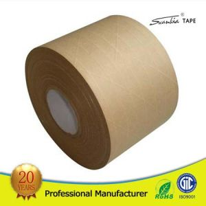 Water Activated Kraft Paper Tape for Carton Packing pictures & photos