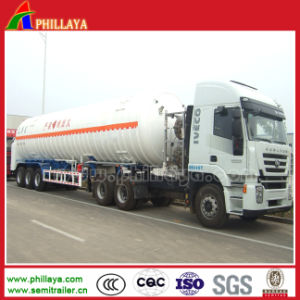 Propane / Gas LNG Transportation Tanker Semi Trailer / LNG pictures & photos
