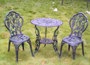 Outdoor Furniture, Garden Furniture, Aluminum Patio Bistro Set