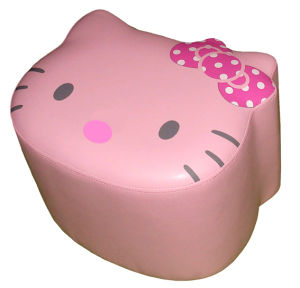 Hello Kitty Children Chair Upholstered Toddler Step Stool (SXBB-311) pictures & photos