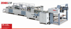 Shopping Paper Bag Making Machine Zb1100A pictures & photos