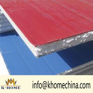Construction Material Flame Retardant EPS Insulated Sandwich Wall Panel pictures & photos