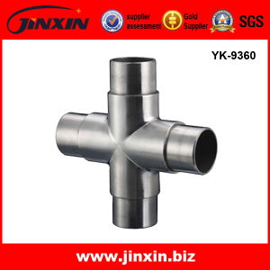 Flexible Pipe Connector - Stainless Steel 304/316 Railing Elbow (YK-9360)