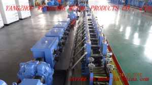 Wg16 Square Pipe Making Machine pictures & photos