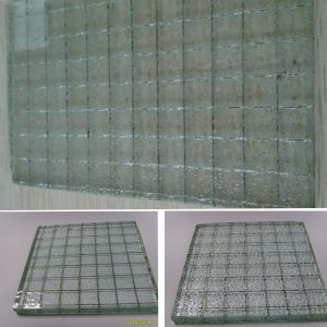 6.5mm 6mm Clear Wire Glass Wired Glass pictures & photos