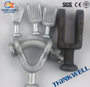 Forged Galvanized Y Type Ball Clevis for Transmission Line Fitting pictures & photos