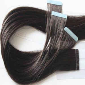 100% Human Remy Seamless Skin Tape Weft Hair Extension pictures & photos