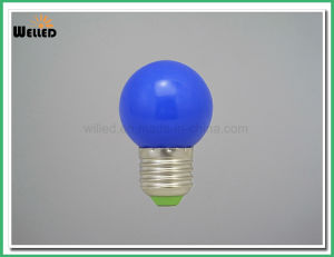 3W Seven Colors Plastic LED Bulb G45 Light Bub in Red/Green/Blue/Yellow/Amber/White for Decorative pictures & photos