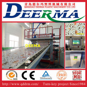 Qingdao PVC Marble Sheet Production Line with PLC Control