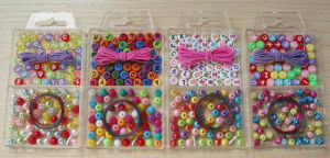 Coloured Letters/Alphabet Beads (CCB-020)