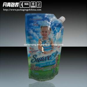Baby Eco- Friendly Flexible Pour Spout Pouch with Corner Spout (DQ0201) pictures & photos