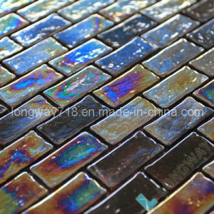 Iridescent Glass Mosaic Tile (L2IBS005)