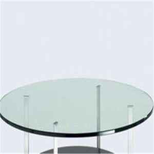 New Stained/Clear Round Tempered Glass for Coffee Table Top pictures & photos