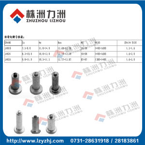 Tungsten Carbide Pins for Snowy Area with Well Prepared Materials
