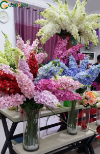 New Design Hydrangea Silk Flowers for Decoration pictures & photos