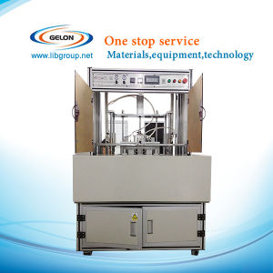 Four Station Turntable Type Top-Side Heat Sealing Machine for Lithium Battery - Gn-Ts-300 pictures & photos