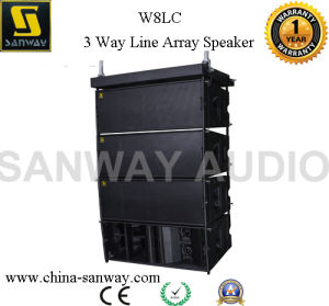 W8LC 3 Way Price Line Array Sound System pictures & photos