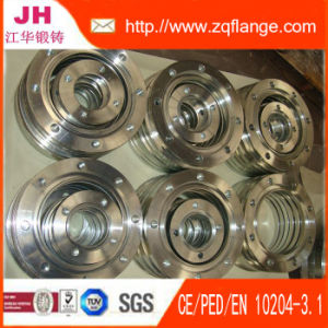 Galvanized Carbon Steel of Groove Flange pictures & photos