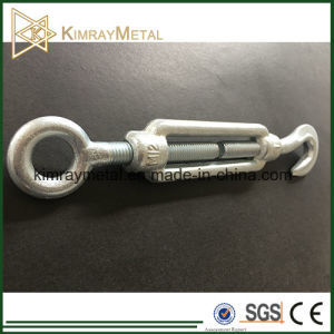 DIN1480 Galvanized Drop Forged Hook and Eye Turnbuckle pictures & photos