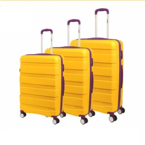 Colorful Good Quality PP Luggage Set pictures & photos