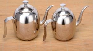 500ml Stainless Steel Olive Oil Kettle Sauce Kettle and Condiment Pot (CS-027)