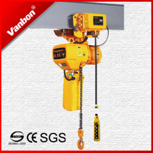 0.5ton Electric Chain Hoist, Hook Fixed Type Hoist pictures & photos
