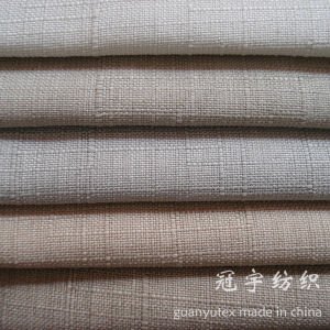 Knitted Oxford Linen Fabric for Sofa Cover Upholstery pictures & photos