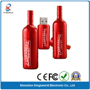 Custom Metal Bottle USB Flash Disk pictures & photos