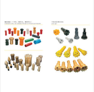 Tungsten Carbide Mining Drill Bits in High Quality pictures & photos