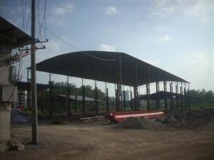Steel Frames Prefabricated Sheds From China