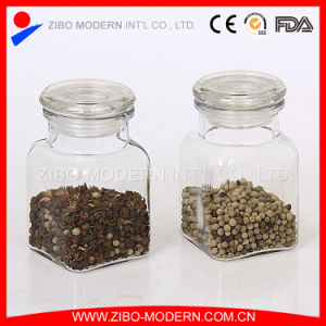 Mini Clear Glass Food Seed Storage Jar with Lid Wholesale pictures & photos