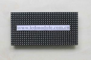 Semi-Outdoor Single Color LED Module P6 for Bus Sign pictures & photos