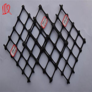 Black Biaxial PP Plastic Geogrid 30-30kn/M pictures & photos