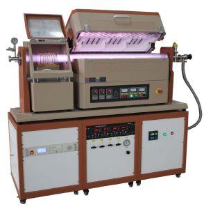PE-CVD (Plasma Enhanced Chemical Vapor Deposition) Double Tube Furnace pictures & photos