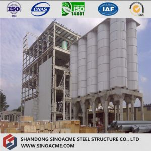 Steel Frame Structure for Industrial Processing Plant pictures & photos