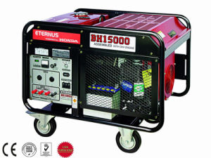 High Quality 12kw 12kVA Portable Gasoline Generating Set (BH15000) pictures & photos
