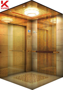 Luxury Hotel Elevator with LED Droplight pictures & photos