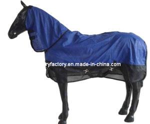 Breathable Blue Mesh Summer Horse Rug (SMRU548A) pictures & photos