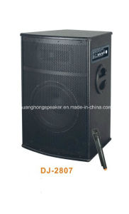 Big Power Professional Active Speaker with Wireless Mic (DJ-2807)