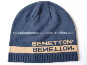 Knitted Winter Warm Acrylic Reversible Beanie pictures & photos