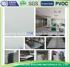 Gypsum Tiles/Ceiling with PVC Coated pictures & photos