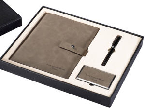 Paper Box Cardboard Box Paper Set Box for Pen Notebook (YSD70) pictures & photos