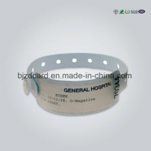 Custom Different Color and Size Paper/Wristband Bracelet pictures & photos