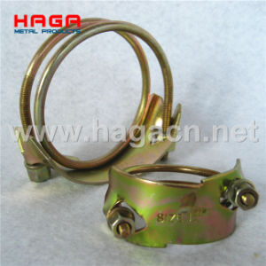 Haga Plated Steel Double Wire Hose Clamp pictures & photos