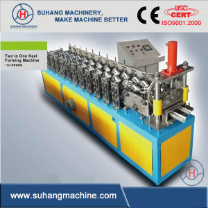 Australia Popular Stud Track Roll Forming Machine pictures & photos