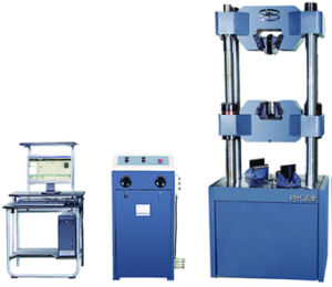 Hydraulic Universal Testing Machine TIME WEW-1000D pictures & photos